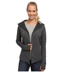 The North Face Harmony Park Wrap Charcoal Grey Heather Women's Long Sleeve Pullover Gray