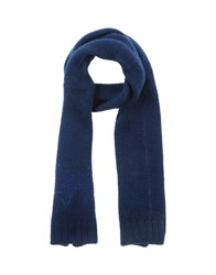 Atelier Fixdesign Accessories Oblong Scarves Women Dark Blue