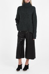 Bonnie Young Boucle Cashmere Sweater Grey