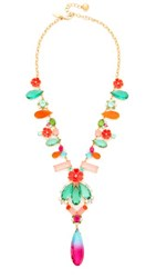 Kate Spade New York Garden Party Statement Necklace Multi