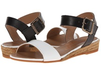 Eric Michael Amanda White Black Women's Sandals