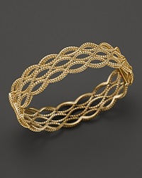 Roberto Coin 18K Yellow Gold Double Row Twisted Bangle Bloomingdale's Exclusive