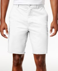 American Rag Men's Stretch Chino Shorts Only At Macy's Bright Whi