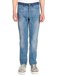 Lanvin Skinny Five Pocket Jeans Sky Blue