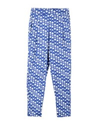 People Tree Trousers 3 4 Length Trousers Women Blue