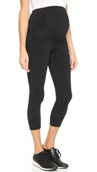 Ingrid And Isabel Active Maternity Capri Pants Jet Black