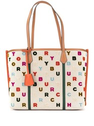 Tory Burch Perry Fil Coupe Tote Bag Brown