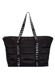Fiorelli Sport Puffer Large Quilted Tote Bag Black