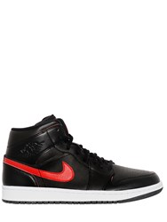 Nike Air Jordan Faux Leather Sneakers