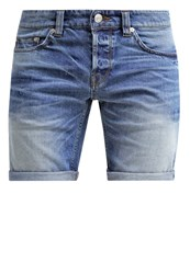 Only And Sons Onsloom Denim Shorts Medium Blue Denim