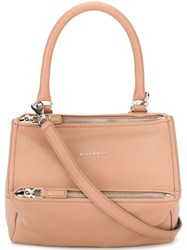 Givenchy Small 'Pandora' Shoulder Bag Nude And Neutrals