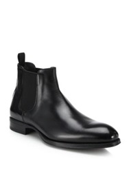 To Boot Anderson Leather Chelsea Boots Black
