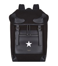 Givenchy White Star Backpack Unisex Black