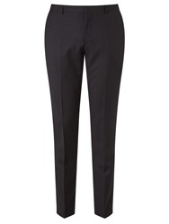 Calvin Klein Tate Micro Two Tone Weave Tailored Suit Trousers Black Grey