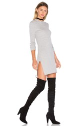 Demy Lee Anise Sweater Dress Gray