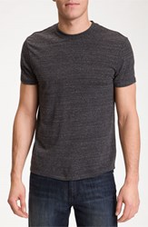 Men's The Rail Trim Fit Crewneck T Shirt Dark Charcoal Heather Grey