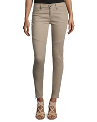 Ralph Lauren 400 Matchstick Ankle Jeans Taupe Brown Women's