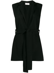 The Row Minimal Gilet Black