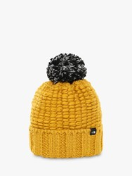 The North Face Cozy Chunky Beanie One Size Golden Spice
