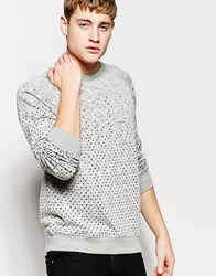 Bellfield Sweat With Shape Print Grey