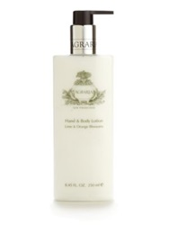 Agraria Lime And Orange Blossoms Hand And Body Lotion 8.45 Oz. No Color