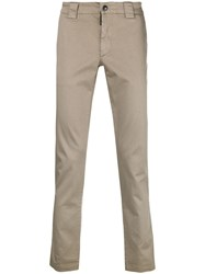C.P. Company Cp Chino Trousers Nude And Neutrals