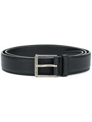 Saint Laurent Classic Buckled Belt Black