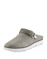 Gentle Souls Esther Convertible Sneaker Mules Light Pewter