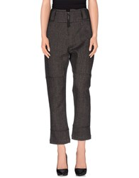 Malloni Trousers Casual Trousers Women Steel Grey