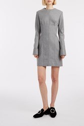 Acne Studios Ebele Short Dress Grey