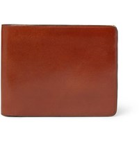 Il Bussetto Polished Leather Billfold Wallet Tan