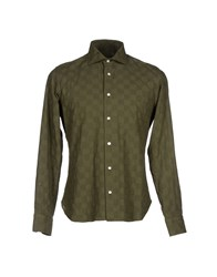 Tonello Shirts Shirts Men Military Green