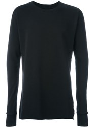 Thom Krom Crew Neck Sweatshirt Black