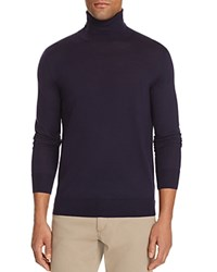 Polo Ralph Lauren Merino Wool Turtleneck Sweater 100 Bloomingdale's Exclusive Hunter Navy