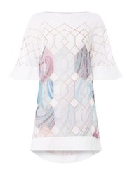 Ted Baker Sea Of Clouds Beach Cover Up White