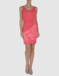 Love Sex Money Short Dresses Coral
