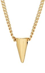 Jules Smith Designs Women's Spike Charm Necklace Gold