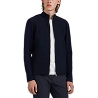 Theory Eclipse Zip Front Sweater Jacket Navy