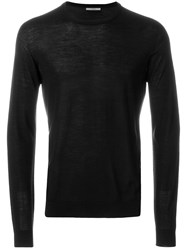 Nuur Crew Neck Jumper Black
