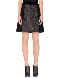 Max And Co. Knee Length Skirts Black