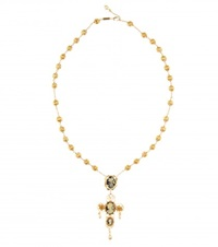 Dolce And Gabbana Embellished Necklace No