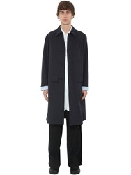J.W.Anderson Cotton Canvas Work Wear Coat Navy