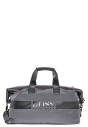Hugo Boss Green Pixel Holdall Dark Grey