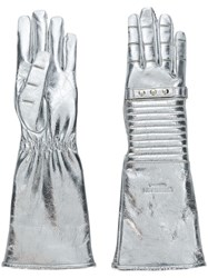 Calvin Klein 205W39nyc Metallic Gloves