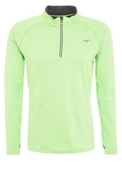 Mizuno Warmalite Top Sports Shirt Green Flash