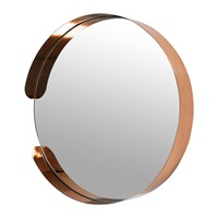 Amara Asymmetric Framed Mirror Copper