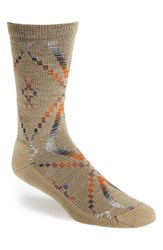 Men's Woolrich 'Blanket' Merino Wool Blend Socks Khaki