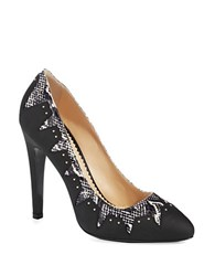 Aperlai Mecano Pumps Black White