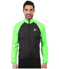 Pearl Izumi Elite Barrier Cycling Jacket Black Screaming Green Men's Coat