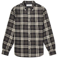 Officine Generale Button Down Shirt Grey
